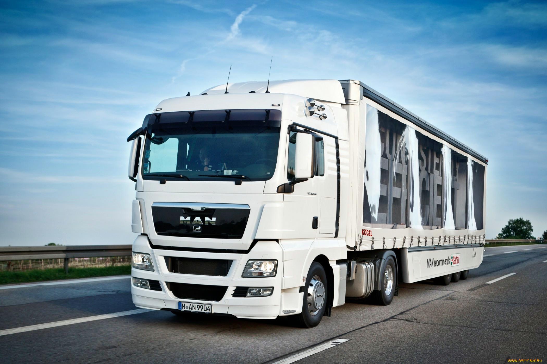 фото грузовиков ман своим родным
